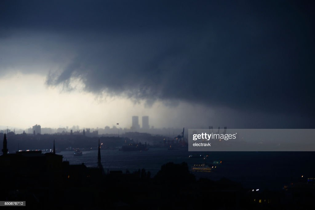 Storm coming : Stock Photo
