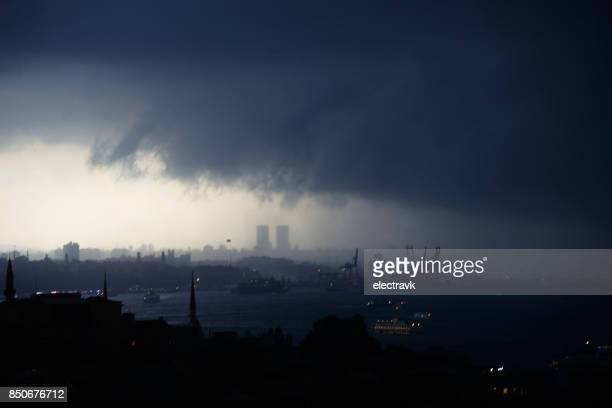 storm coming - apocalypse stock pictures, royalty-free photos & images