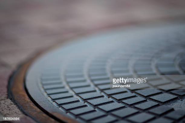 Storm Drain Lid Up Close
