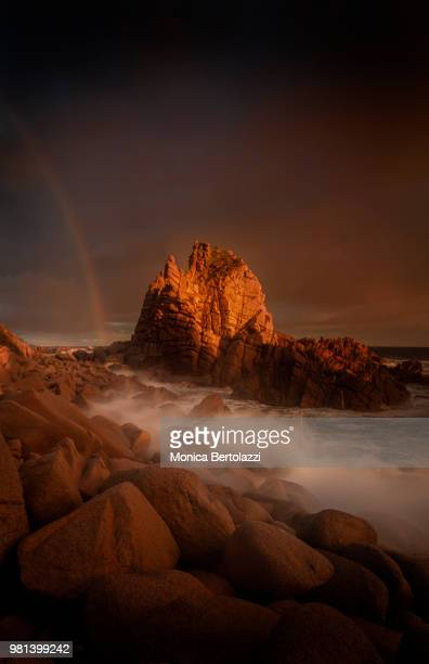 storm in cape woolamai - phillip island stock pictures, royalty-free photos & images
