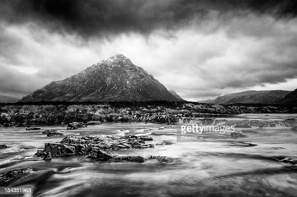 storm in glencoe - theasis stock pictures, royalty-free photos & images