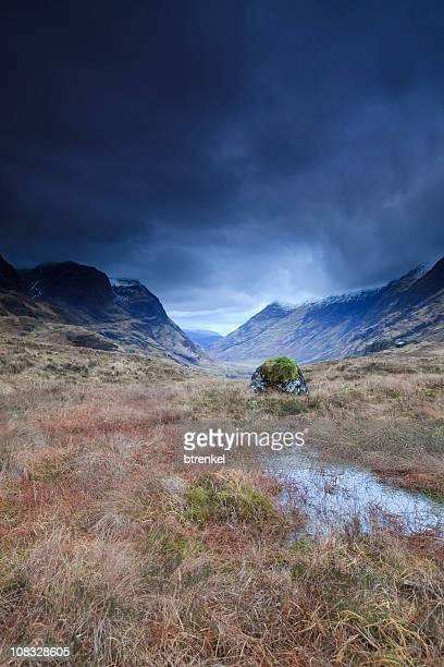 Storm in den highlands