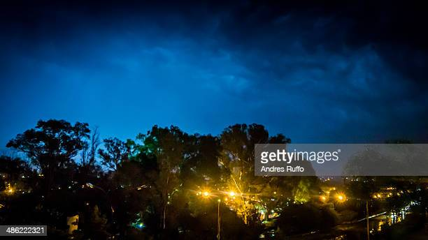 storm in villa allende - andres ruffo stock pictures, royalty-free photos & images