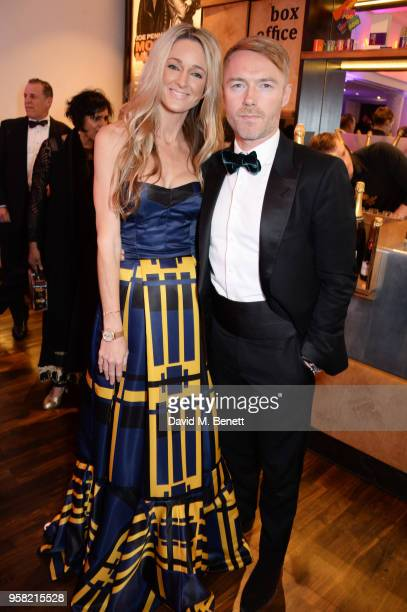 Storm Keating and Ronan Keating attend The Old Vic Bicentenary Ball to celebrate the theatre's 200th birthday at The Old Vic Theatre on May 13 2018...