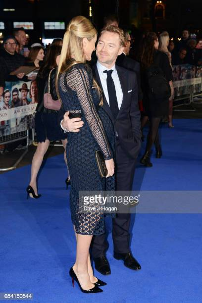 Storm Keating and Ronan Keating attend the World Premiere of 'Another Mother's Son' on March 16 2017 in London England