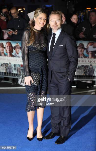 Storm Keating and Ronan Keating attend the World Premiere of 'Another Mother's Son' on March 16 2017 at Odeon Leicester Sqaure in London England