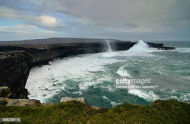 Storm on the Atlantic Ocean