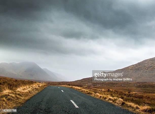 Storm over Glen Inagh, Connemara