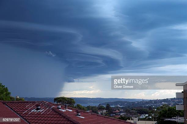 Storm over Sydney Harbour