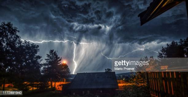 storm - extreme weather stock photos and pictures