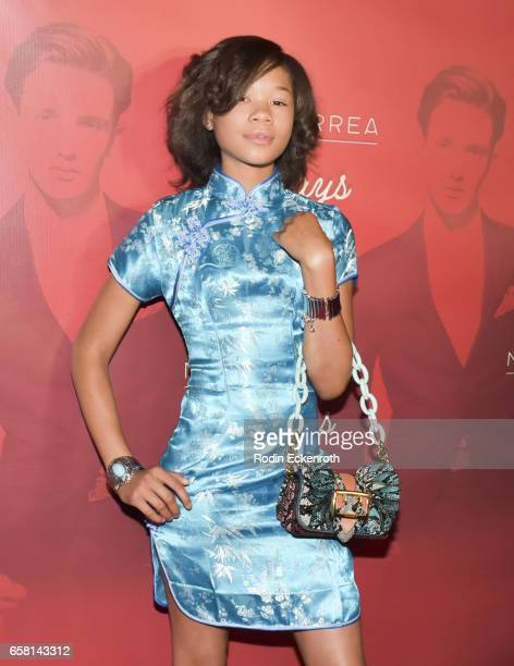 Storm Reid attends Noah Urrea's 16th Birthday with EP Release Party at Avalon Hollywood on March 26 2017 in Los Angeles California