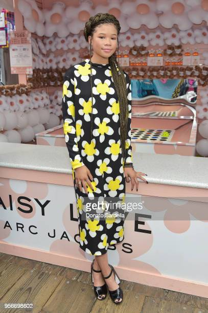 Storm Reid attends the Marc Jacobs Fragrances Celebrates the Launch of DAISY LOVE on May 9 2018 in Los Angeles California