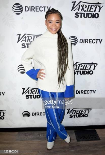 Storm Reid stops by DIRECTV Lodge presented by ATT during Sundance Film Festival 2019 on January 27 2019 in Park City Utah