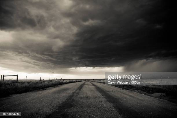 storm rolling onto the high plains of northern colorado. - the webster stock pictures, royalty-free photos & images