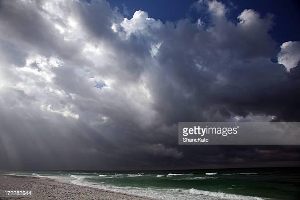 Storm slams Coast.