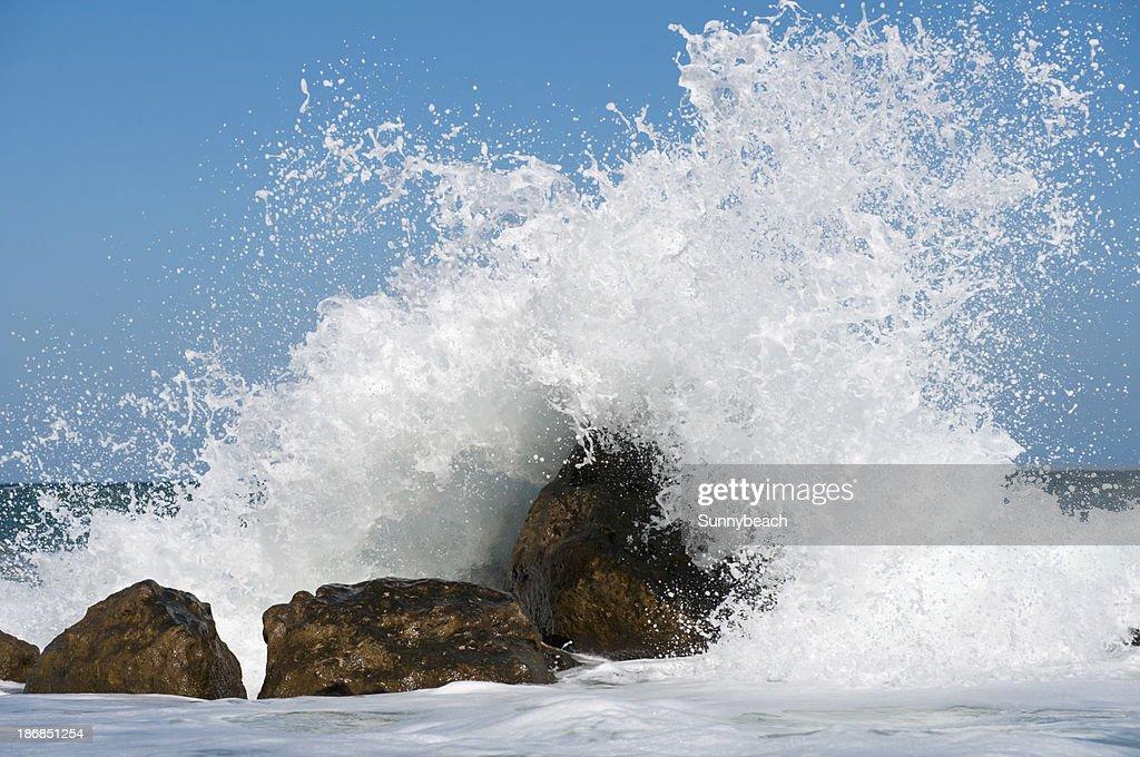 Storm Surf : Stock Photo