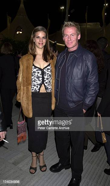 Storm Theunissen and Richard Roxburgh arrive for the opening night of the Cirque du Soleil production of 'Alegria' under the Grand Chapiteau at Moore...