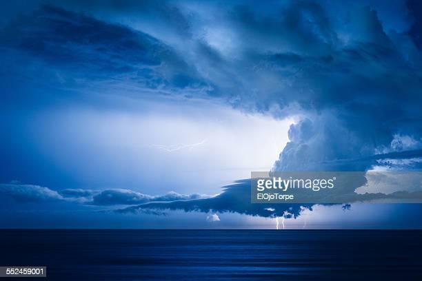 Storm, thunder & lightnings at Piriapolis, Uruguay