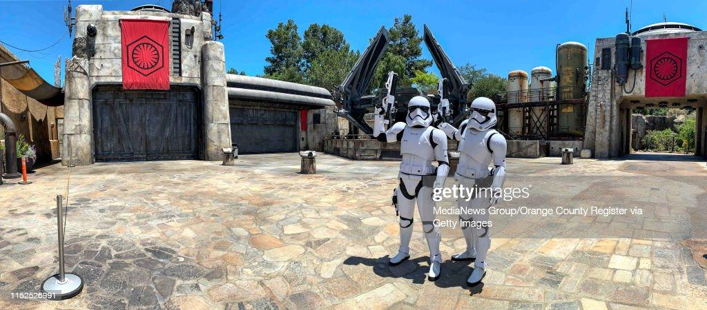 "Disneyland""u2019s Star Wars: Galaxy""u2019s Edge : News Photo"