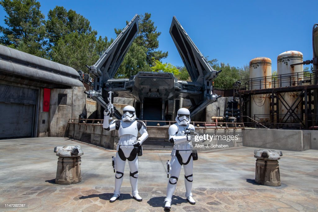 Star Wars: Galaxy's Edge Media Preview At The Disneyland Resort : News Photo