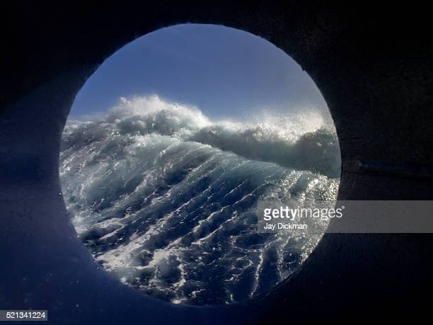 storm waves in the drake passage - drake passage stock photos and pictures