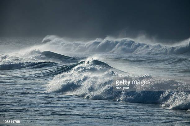 storm waves - hurricane storm stock pictures, royalty-free photos & images