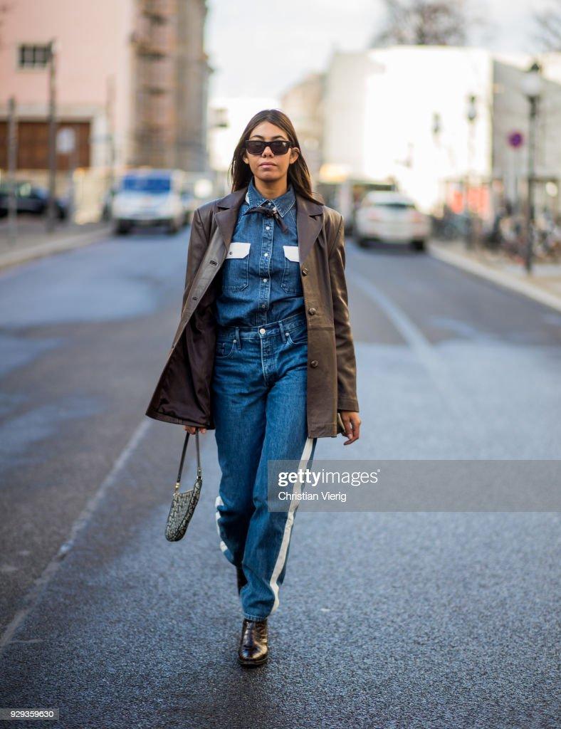 Street Style - Berlin - March 8, 2018 : News Photo