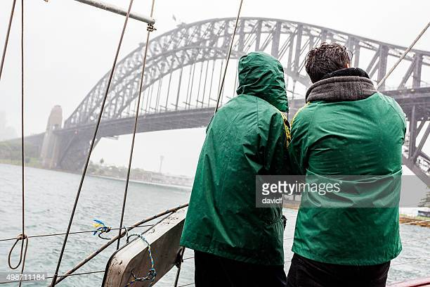 Storm Yachting in Sydney Harbour