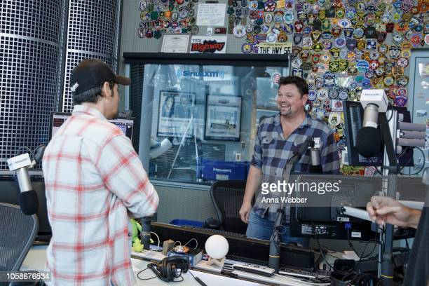 Storme Warren interviews Brad Paisley at SiriusXM Nashville at SiriusXM Studios on November 7 2018 in Nashville Tennessee