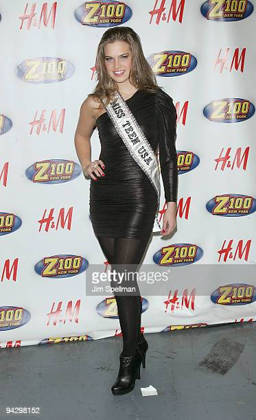 Stormi Bree Henley Miss Tennessee Teen USA attends Z100's Jingle Ball 2009 presented by HM at Madison Square Garden on December 11 2009 in New York...