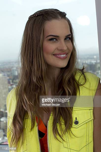 Stormi Henley poses for The CONAIR Arts Cinema Centre TriBeCa Portraits with The PhotoFund Day3 at Trump SoHo on April 27 2011 in New York City
