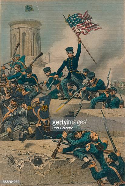 Storming of Chapultepec, 1877. The Battle of Chapultepec, September 1847, was a battle between Mexican and American forces during the...
