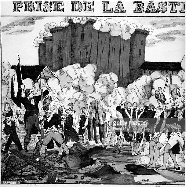 Storming of the Bastille 1789