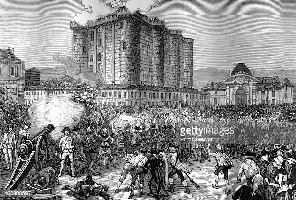 Storming of the Bastille Paris 14th July 1789 The Bastille was a prison in Paris known formally as Bastille SaintAntoine On the morning of 14th July...