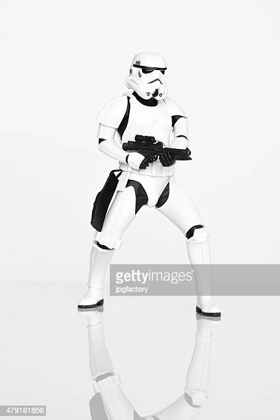 stormtrooper - famous people stock photos and pictures