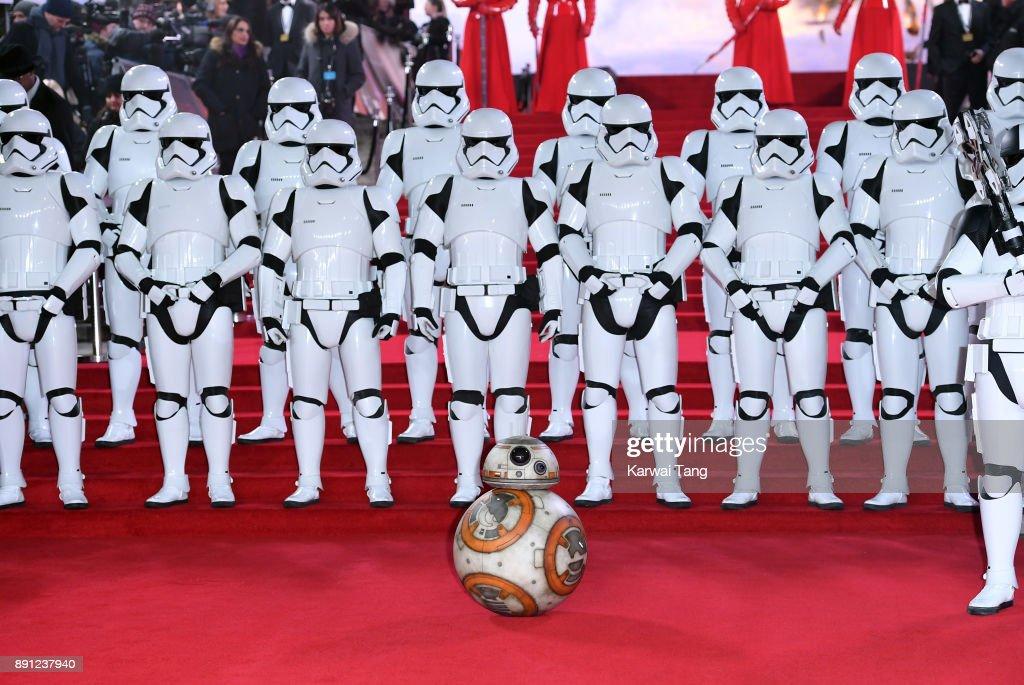 'Star Wars: The Last Jedi' European Premiere - Red Carpet Arrivals : News Photo