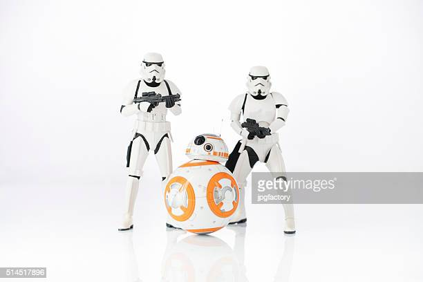 Stormtroopers and BB-8