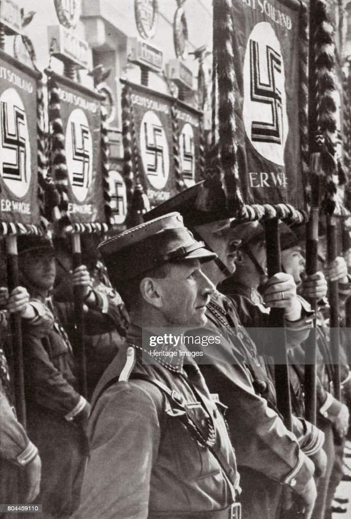 SA Stormtroopers On Parade Germany circa 1929-1931 : News Photo
