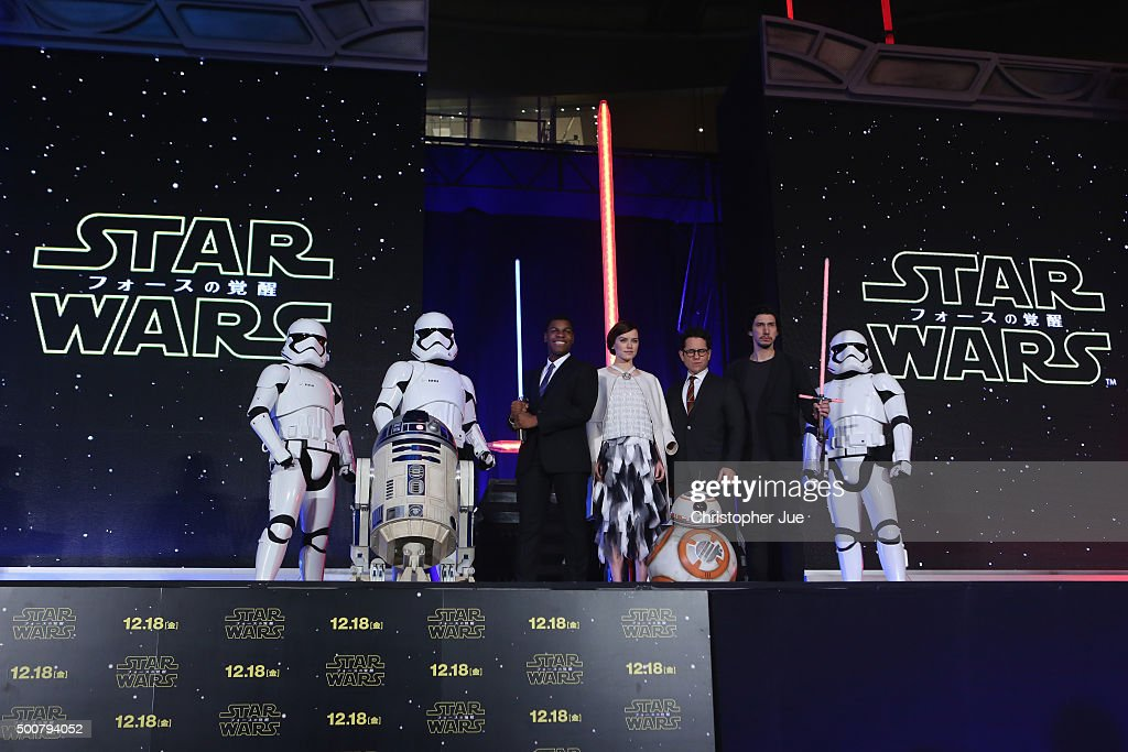 """""""Star Wars: The Force Awakens"""" Red Carpet Fan Event In Japan : News Photo"""
