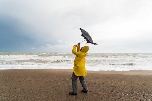 Stormy beach 1127984818