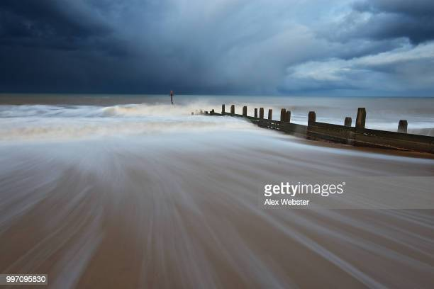 stormy beach - the webster stock pictures, royalty-free photos & images