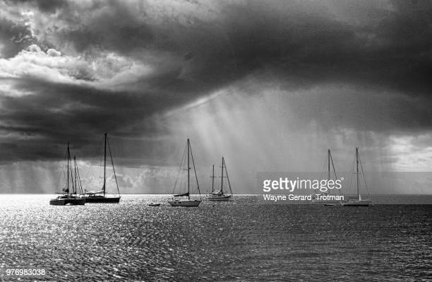 stormy caribbean - wayne gerard trotman stock pictures, royalty-free photos & images