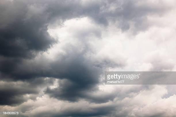 Stürmischen Wolken