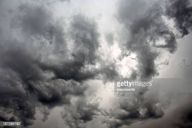 stormy cloudscape - ugly wallpaper stock photos and pictures