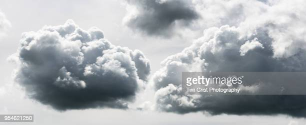 stormy cloudscape - cumulus stock pictures, royalty-free photos & images