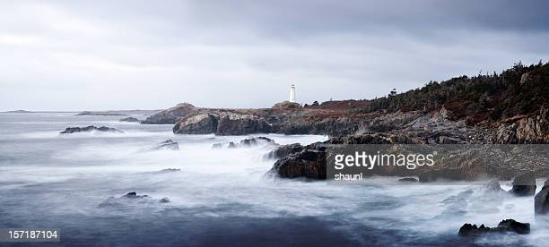 stormy coast - cape breton island stock pictures, royalty-free photos & images