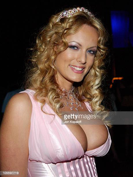Stormy Daniels AKA Stormy Waters during 2005 AVN Awards Arrivals and Backstage at The Venetian Hotel in Las Vegas Nevada United States