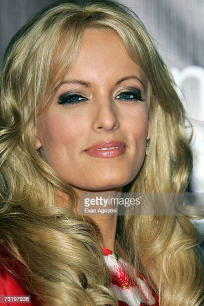 Stormy Daniels arrives for The MarketAmericacom SUPER XLI PARTY at 8th Street and Ocean Drive on February 3 2007 in Miami Beach Florida
