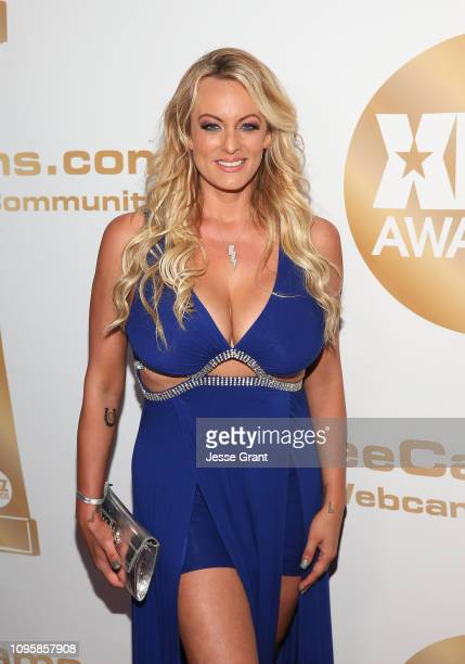 Stormy Daniels attends the 2019 XBIZ Awards on January 17 2019 in Los Angeles California