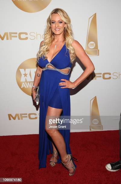 Stormy Daniels attends the 2019 XBIZ Awards on January 17, 2019 in Los Angeles, California.